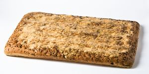 """Picture of Focaccia Olive Sheet 1"""" Thick"""